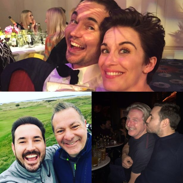Actor Martin Compston teased the Line of Duty series six finale and shared some sweet cast and crew snaps