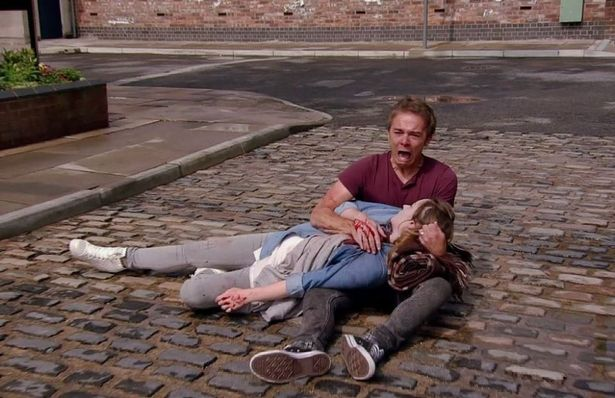 Her character Kylie, who was married to David Platt, left Corrie when she was stabbed to death