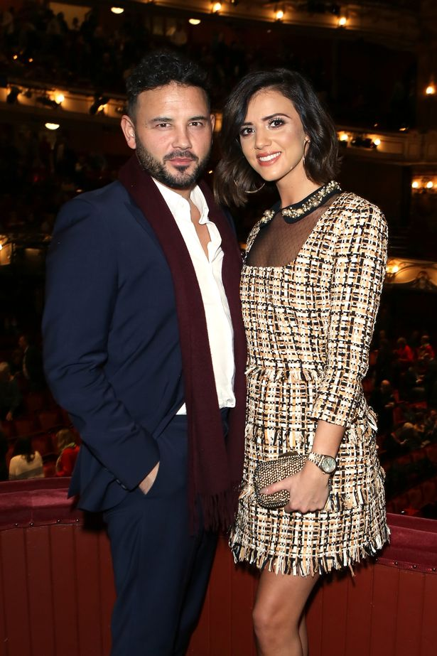 Ryan with fiance Lucy Meckleburgh