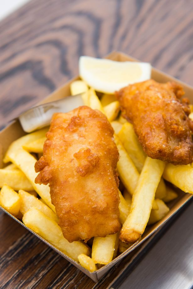 Tom will charge a whopping £35 for the gourmet chippie classic – which is the cheapest meal on the menu