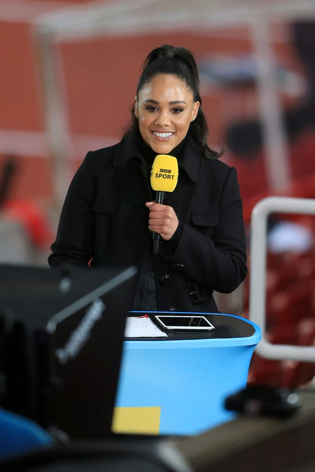 Alex Scott is being lined up to be the new Gary Lineker