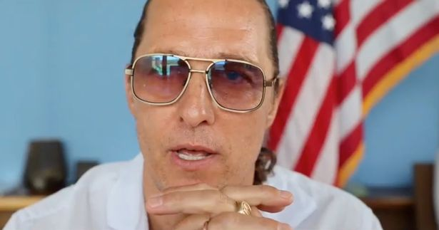Matthew McConaughey got reflective in a video for July 4th