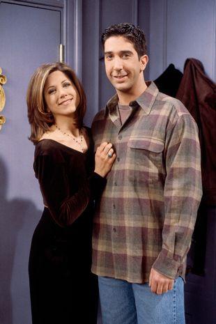 Jennifer Aniston and David Schwimmer