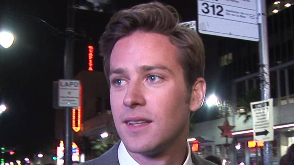 Armie Hammer 'Thriving' In Treatment for Alcohol, Drugs, Sex Addiction