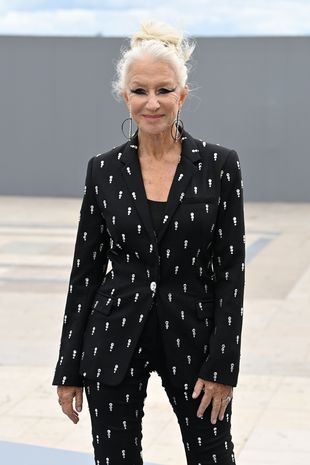 Helen Mirren transformed on the catwalk with bold new look