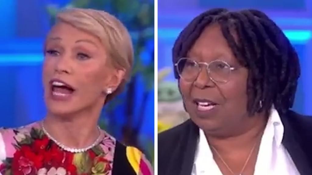 Barbara Corcoran Apologizes for Whoopi Goldberg Fat Joke On 'The View'