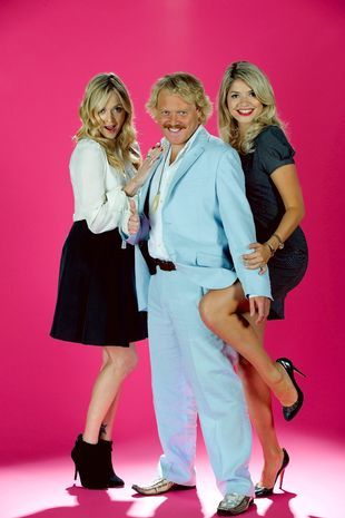 Fearne Cotton, Keith Lemon and Holly Willoughby