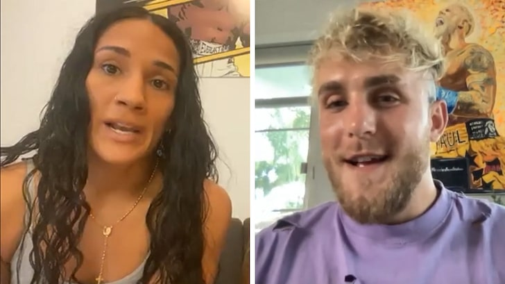 Jake Paul Says He'll Turn Amanda Serrano Into Superstar, Billboards & Big Fights!