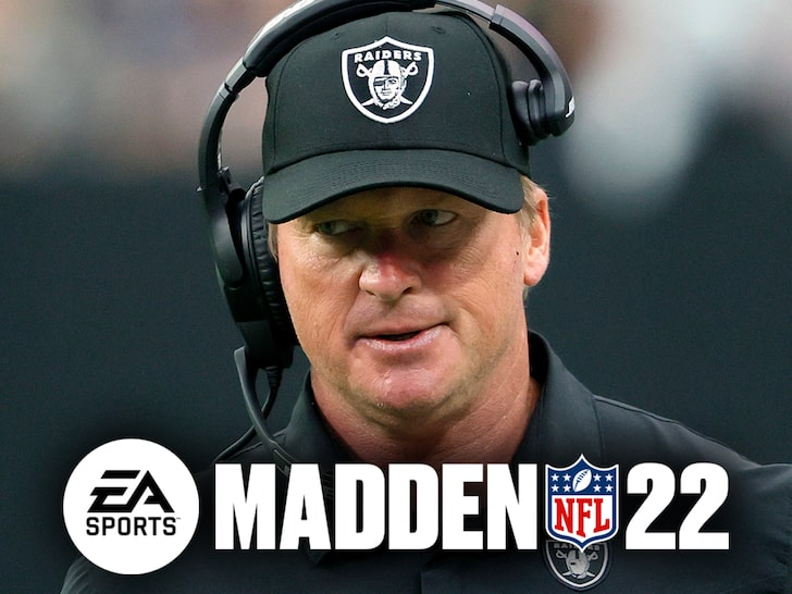 Jon Gruden Being Removed From Madden 22 After Email Scandal