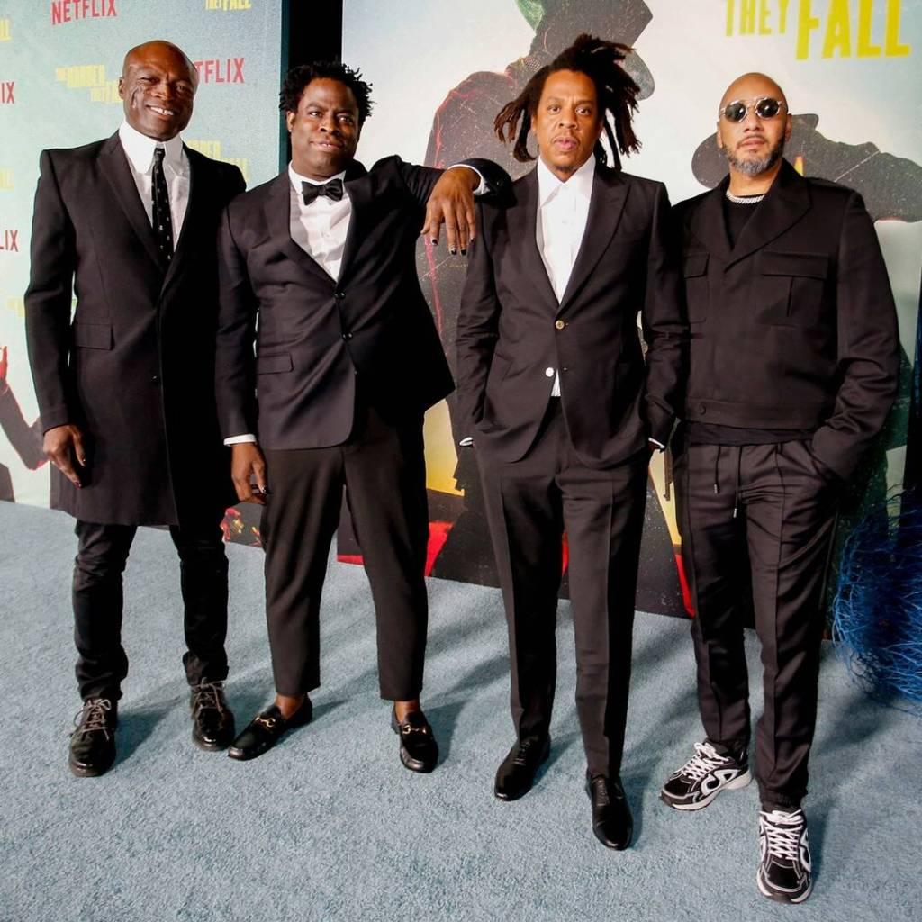 Seal, Jeymes Samuel, Jay-Z & Swizz Beatz