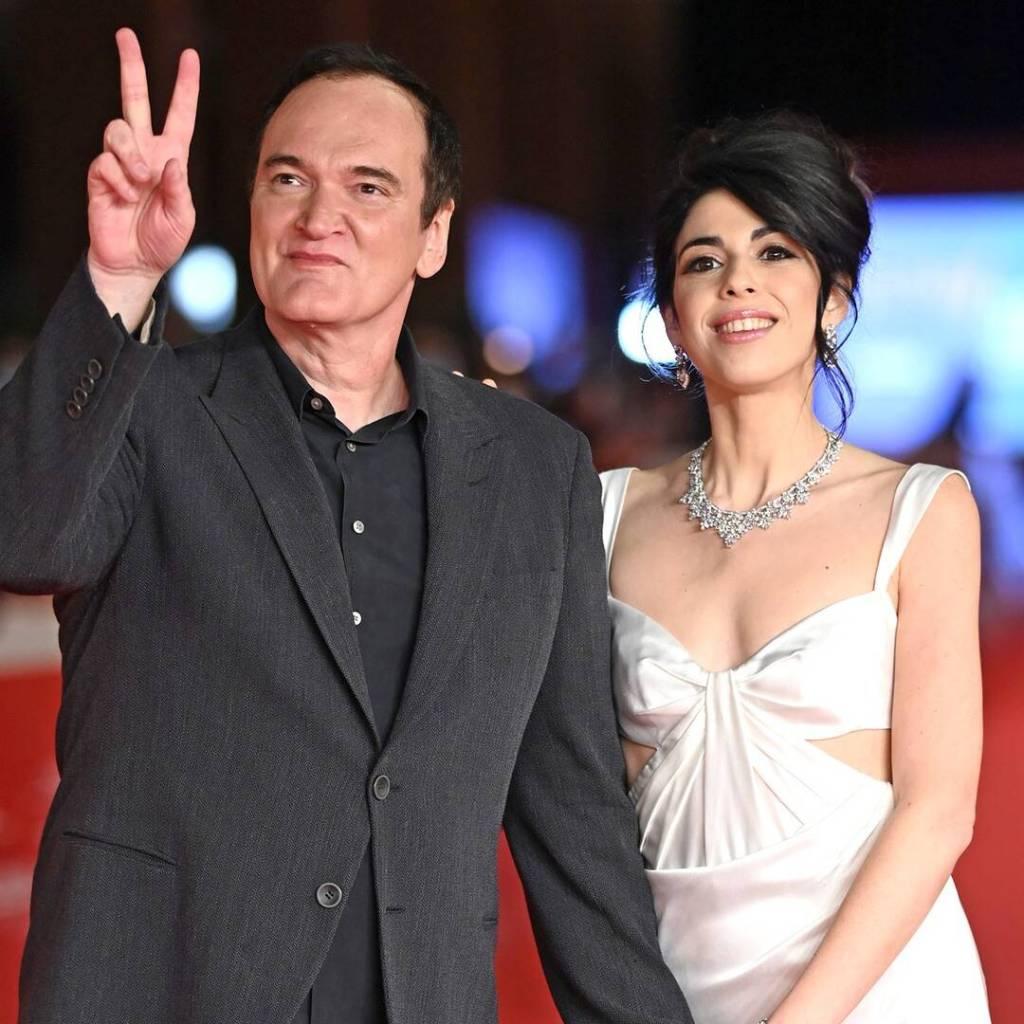 Quentin Tarantino & Daniella Pick
