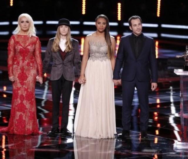 The Voice 2015 Spoilers Voice Finale Results Season 8 Winner