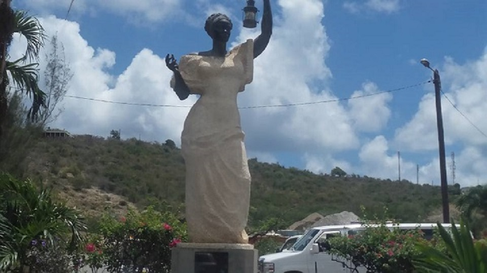 St Maarten Statute of Liberty
