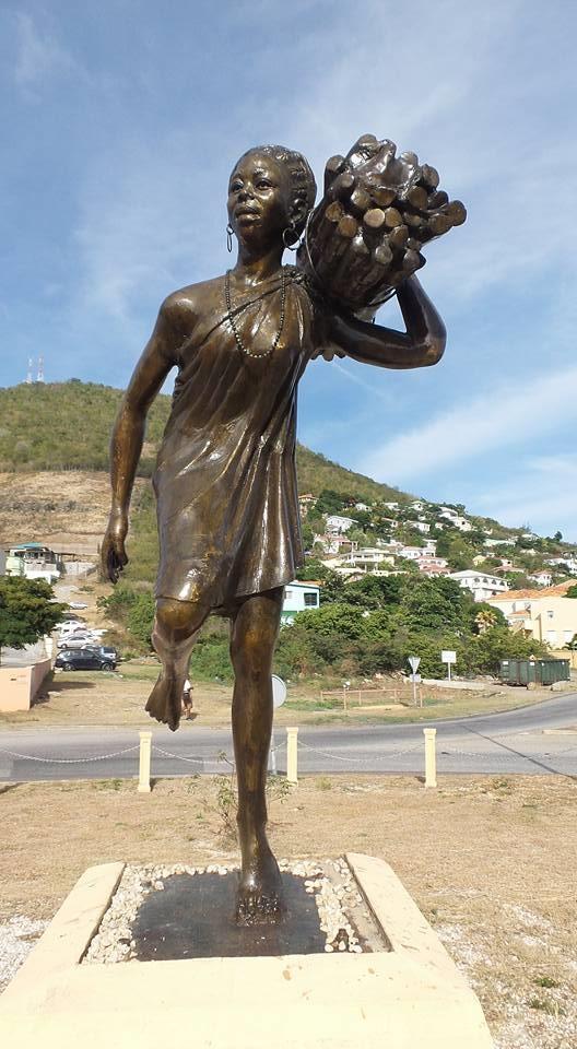 Woman in St Maarten