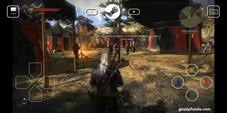 How to play PC games on Android? Playing Witcher II using Parsec