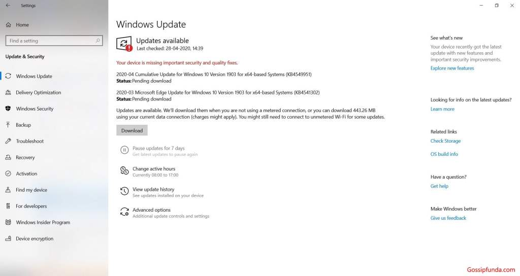 Windows Update to Fix Windows 10 Randomly Freezing?