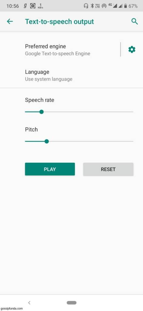 How to use Google Text to Speech