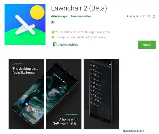 Lawnchair Launcher for com.lge.launcher3