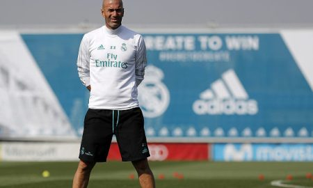 Zidane's First Training Session Back At Real Madrid