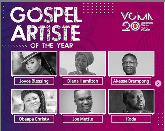 Gospel Artiste Of The Year Winner