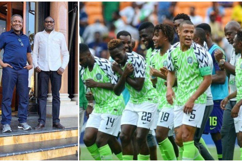 Dangote & Otedola Pledge $75,000 To Any Nigerian Player Who Scores In Semi-Finals 2