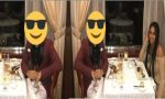 Girl Covers Guy's Face With An Emoji