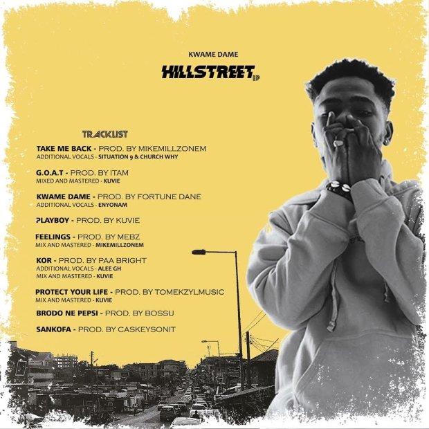 Kwame Dame - HILLSTREET EP