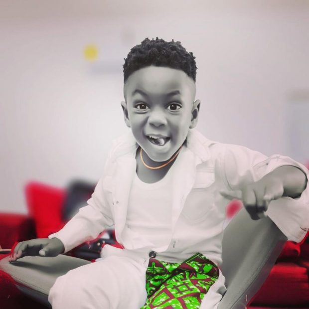 Beautiful Photos Of Shatta Wale's Son, Majesty As He Celebrates His Birthday Today