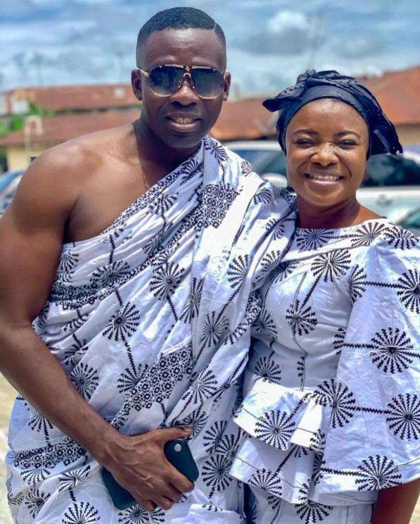 Ohemaa Mercy and Husband,  Twum-Ampofo