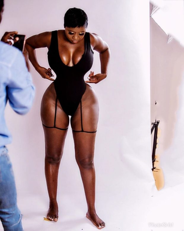 Princess Shyngle Takes Off Her Clothes