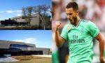 Eden Hazard's new house in madrid, Eden Hazard new mansion in madrid,