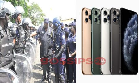 Ghana Police Service, iPhone 11