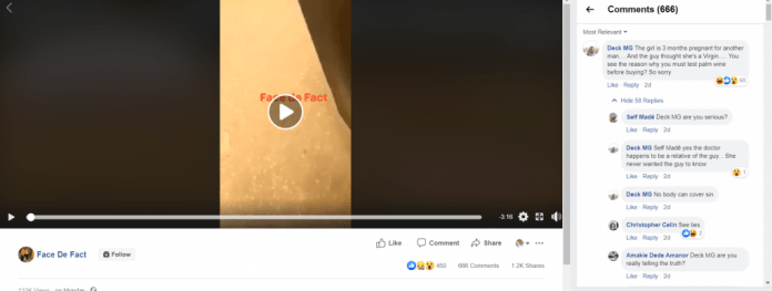 Guy Calls Off Wedding Last Minute After Finding Out The Virgin Girl He Was Going To Marry Is 3 Months Pregnant (video) 2