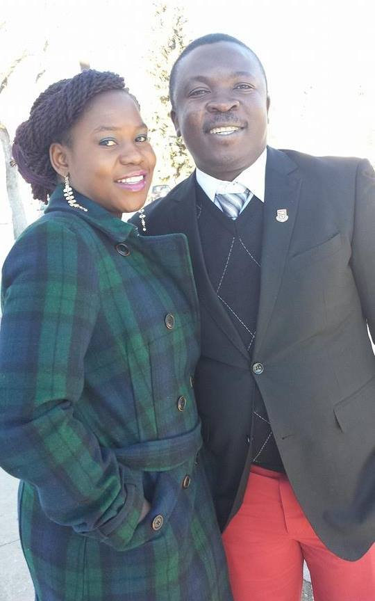 Dr. Paul Kwame Butakor and his wife