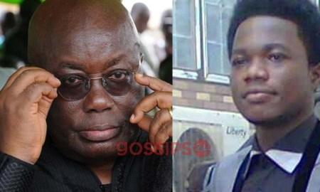 Cosmos Walker and Nana ADDO, Nana Addo will legalize Gayism,