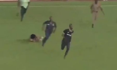 I Wanted To Take A selfie With Thomas Partey – Ghana's Pitch Invader