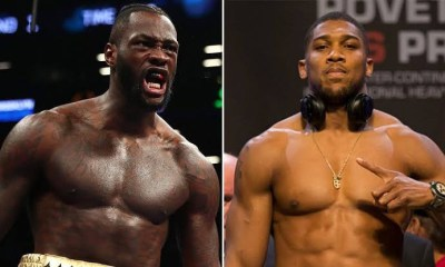 Anthony Joshua fires back at Deontay Wilder for saying 'he run around' all night against Andy Ruiz Jr. 1