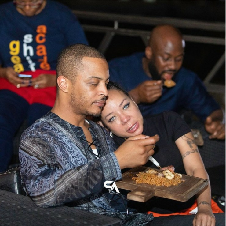 Rapper T.I Falls In Love with Ghana Jollof 1