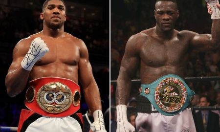 Anthony Joshua will knockout Deontay Wilder, Anthony Joshua and Deontay Wilder