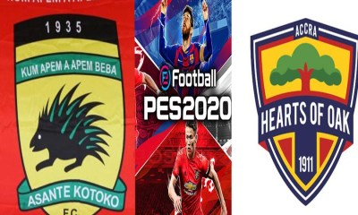 Kotoko and Accra Hearts of OAK reportedly make it to PES 2020