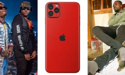 See Kwaw Kese's reaction after Medikal bought Shatta Wale a brand new iPhone 11 Max Pro 1