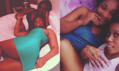 Video of L£sbians fondling each other's Bo0bs trends online (WATCH) 1