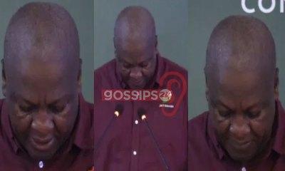 John Mahama break into tears at NDC's campaign fundraising launch 5