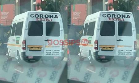 Corona in Accra, Corona van,