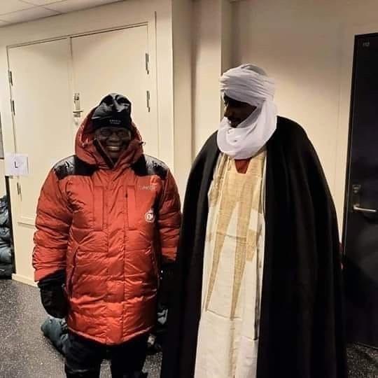 Nana Akufo-Addo dresses like an Eskimo as he chills in Norway 1