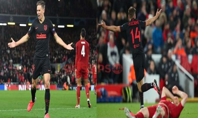 Atletico Madrid kick Liverpool out of Champions League