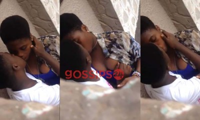 Boy and girlfriend caught chopping last-minute love amid lockdown in Accra