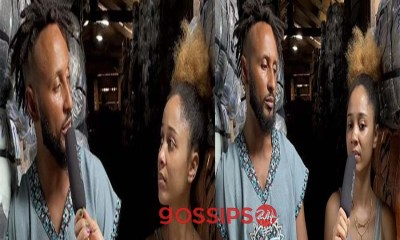 Wanlov and Sister Derby make face masks