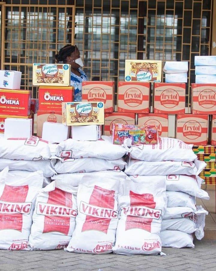 Lawyer And Fashionista - Sandra Ankobiah Donates Items Worth Ghc 10,000 To Osu Children's Home 5