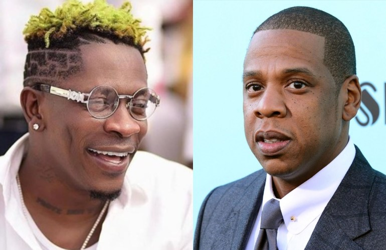 Shatta Wale and Jay Z